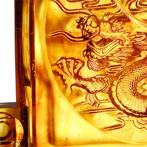 Liuli CrystalFrom Taiji Comes The Dragon
