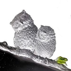 Liuli Crystal  This Lifetime, Owl - Lanyu Scops (Behold Our Legacy of Love)