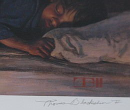 Thomas Blackshear IIWatchers In The Night Limited Edition Print (framed)