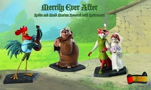 WDCC Disney Classics  Robin Hood And Maid Marian Merry Matrimony