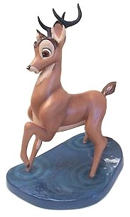 WDCC Disney Classics Bambi Weak In The Knees