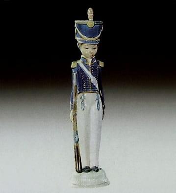 LladroSoldier with GunPorcelain Figurine
