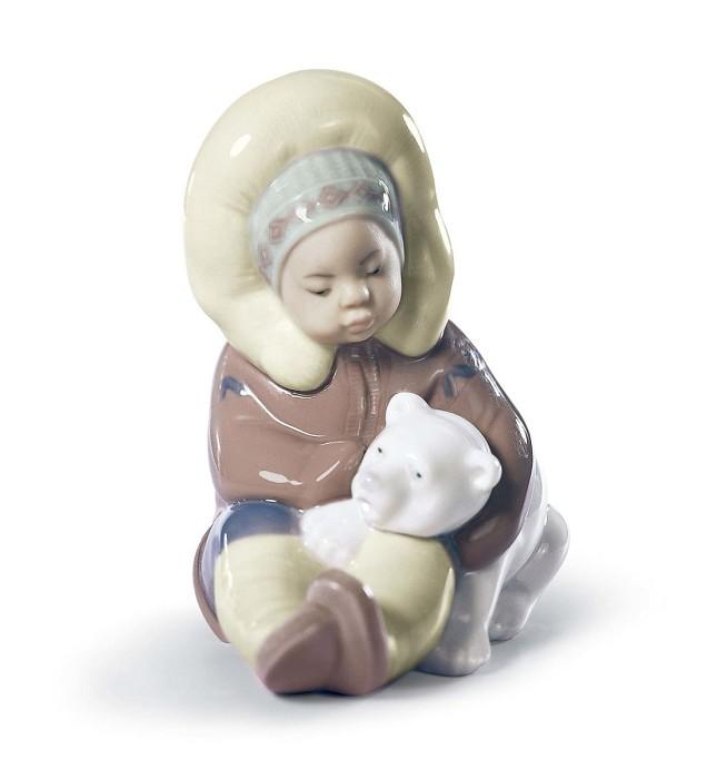 LladroEskimoPorcelain Figurine