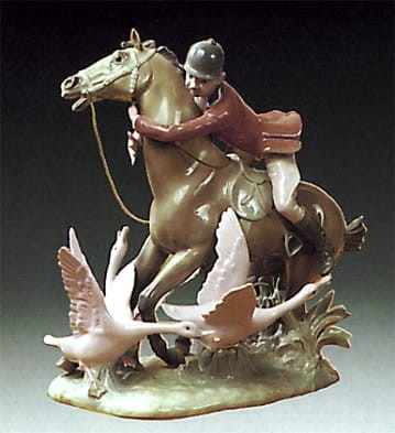 LladroThe RacePorcelain Figurine