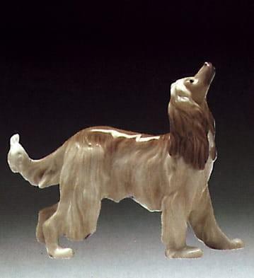 LladroAfghan HoundPorcelain Figurine