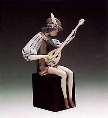 LladroJuggler SittingPorcelain Figurine