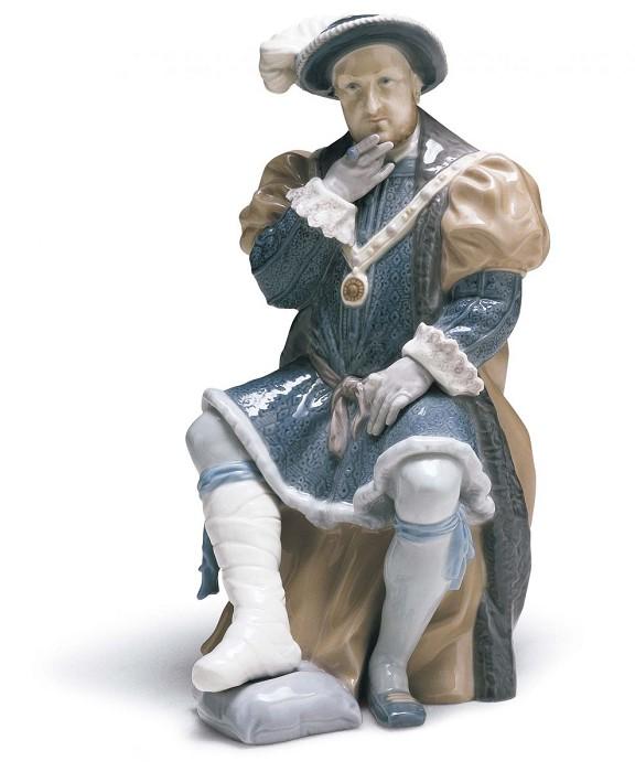 LladroKING HENRY VIIIPorcelain Figurine