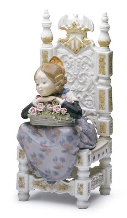 LladroReveriePorcelain Figurine