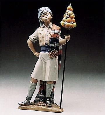 LladroValencian BoyPorcelain Figurine