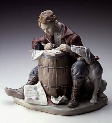 LladroLOVE LETTERSPorcelain Figurine