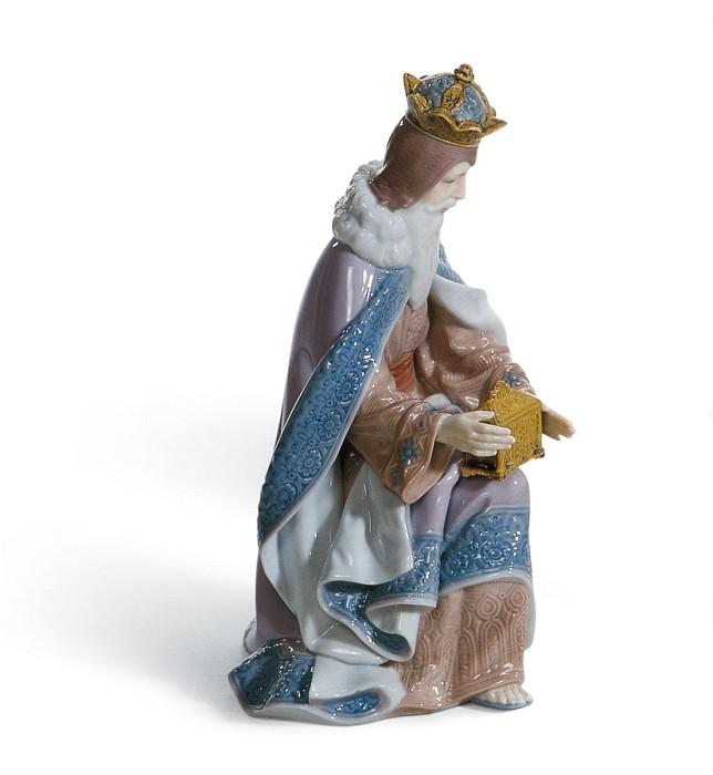 LladroKing MelchiorPorcelain Figurine
