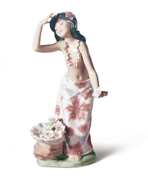 LladroAlohaPorcelain Figurine