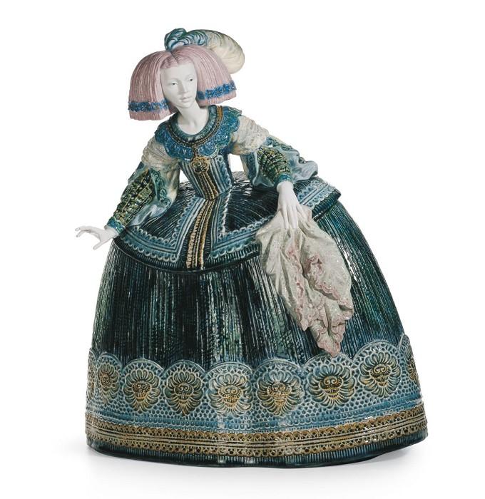LladroLa Menina SculpturePorcelain Figurine