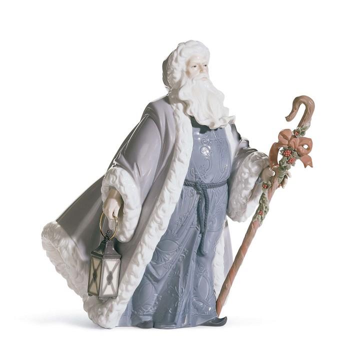 LladroSanta Claus Messenger 2004-08Porcelain Figurine