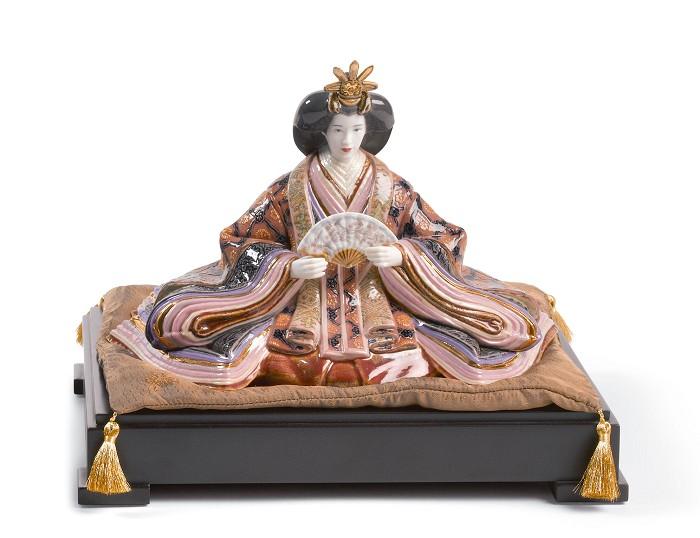 LladroHina Dolls - EmpressMixed Media Sculpture
