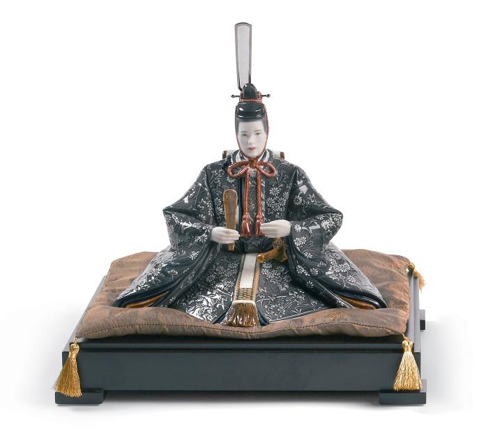 LladroHina Dolls - EmperorPorcelain Figurine