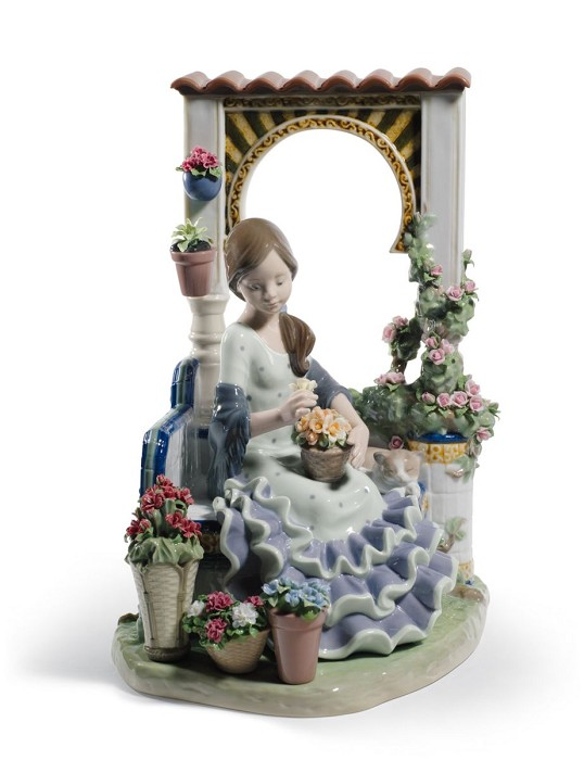 Lladro Andalusian Spring Porcelain Figurine