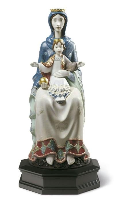 LladroRomanesque MaterPorcelain Figurine