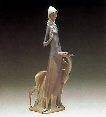 LladroDianaPorcelain Figurine