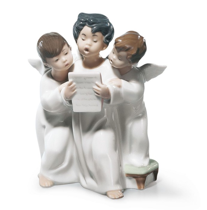 LladroAngels'Porcelain Figurine