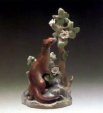 LladroErminePorcelain Figurine
