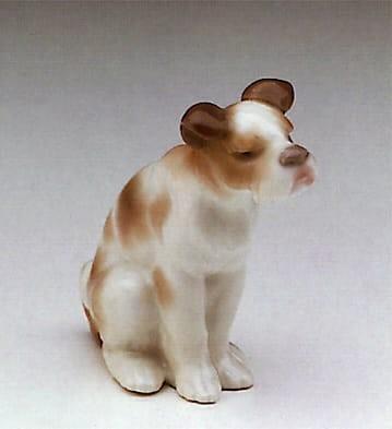 LladroVagabond DogPorcelain Figurine