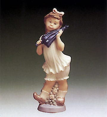 Lladro Sweet Girl Porcelain Figurine