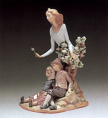Lladro Fairy Godmother Porcelain Figurine