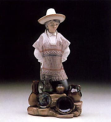 Lladro South of the Border Porcelain Figurine