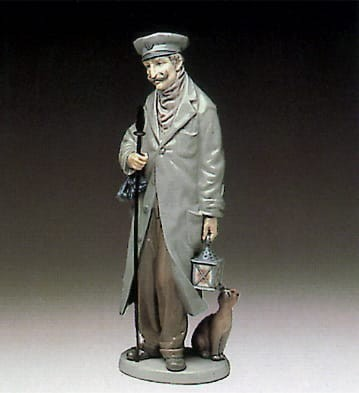 Lladro The Watchman Porcelain Figurine