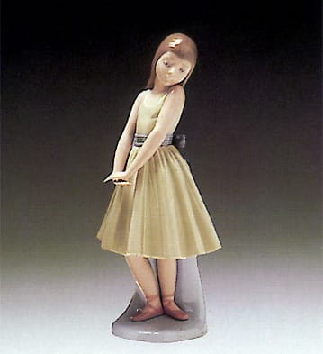 Lladro After the Dance Porcelain Figurine