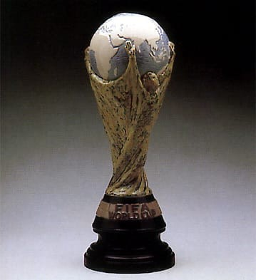 LladroFifa TrophyPorcelain Figurine