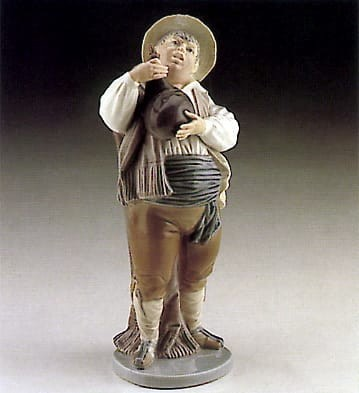 Lladro A Toast by Sancho Porcelain Figurine