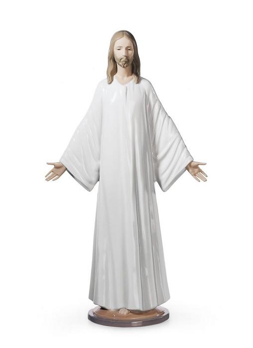 LladroJesusPorcelain Figurine