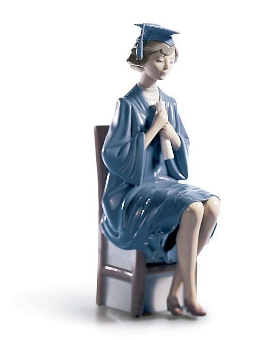 LladroGirl GraduatePorcelain Figurine