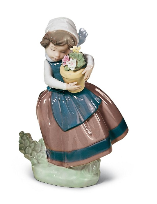 Lladro Spring Is Here Porcelain Figurine