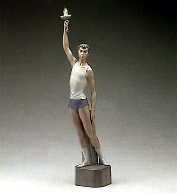 Lladro Torch Bearer