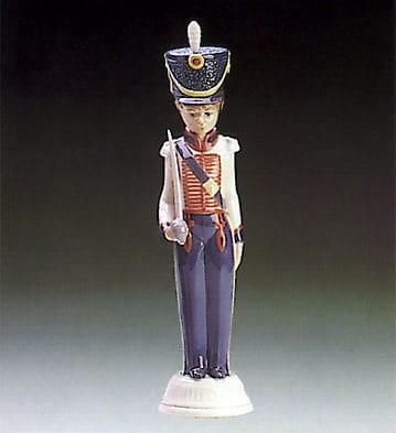 LladroCadet CaptainPorcelain Figurine