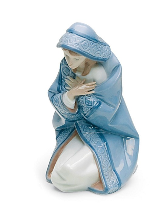 Lladro Mary Porcelain Figurine