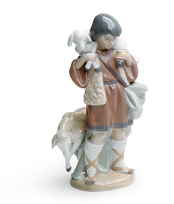 Lladro Shepherd Boy