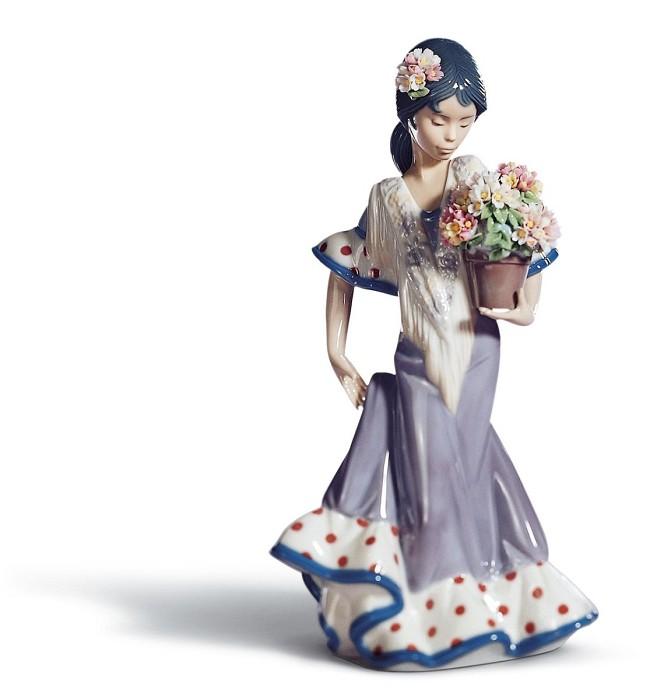 LladroFlor MariaPorcelain Figurine