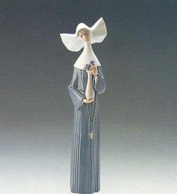 LladroSerene Moment (Blue)Porcelain Figurine