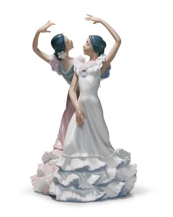 LladroOle FlamencoMixed Media Sculpture
