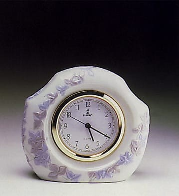LladroValencia ClockPorcelain Figurine