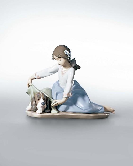 LladroDog's Best FriendPorcelain Figurine