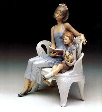 Lladro Once Upon a Time Porcelain Figurine