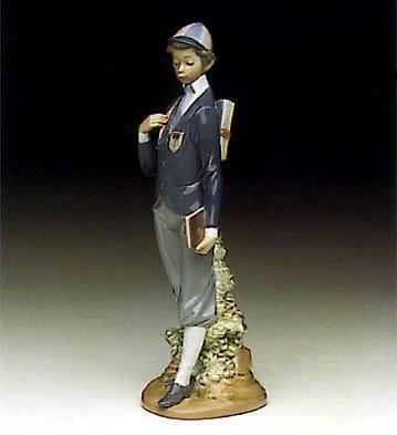 LladroAcademy DaysPorcelain Figurine