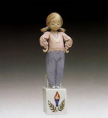 LladroOlympic PridePorcelain Figurine