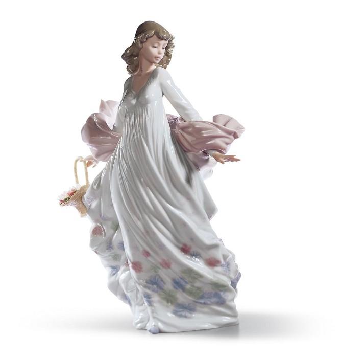 LladroSpring SplendorPorcelain Figurine