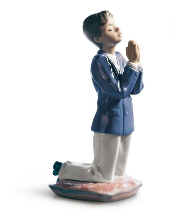 LladroCOMMUNION PRAYER (BOY)Porcelain Figurine